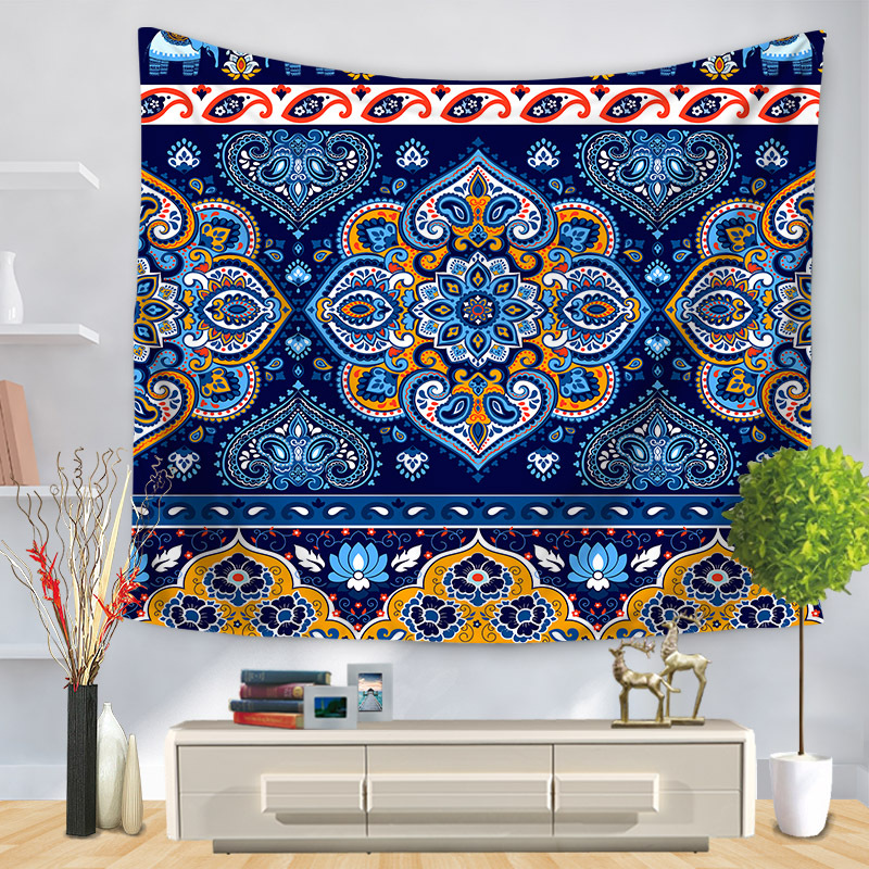 Custom Wall Hanging Tapestry Mandala