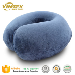 2017 New Design Travel Memory Foam Pillow Neck Support Car Seat Cushion