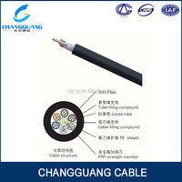 Special tube filling compound FRP GYFTY cat6 copper cable price per meter
