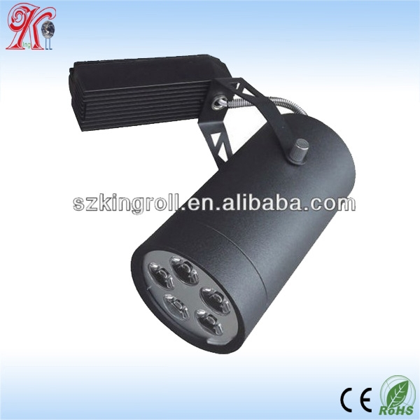 High power LED Track Light Spot 5w 7w 10w 12w 20w 30w clothing store spotlights Commercial Lighting