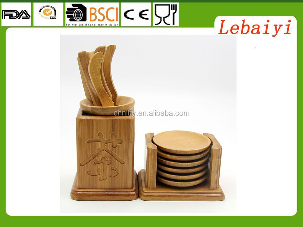 bamboo tea tools: tea pallet and tea tray bamboo materials