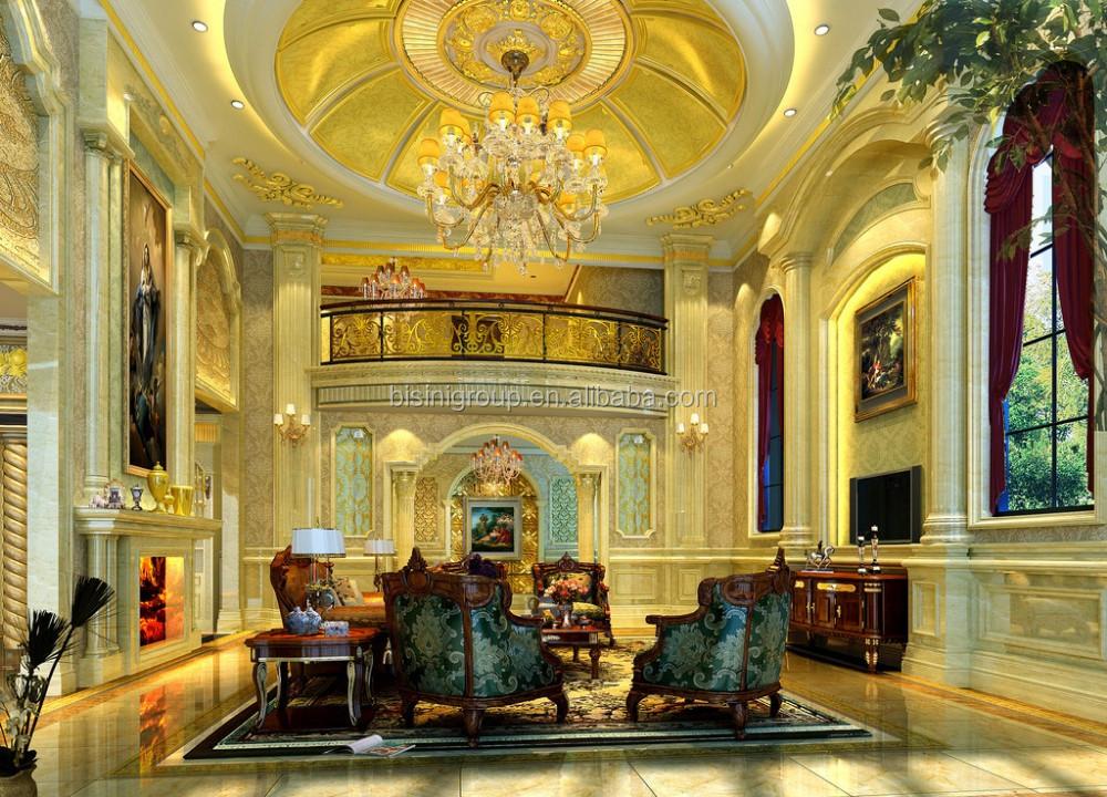 Classic Antique Baroque Design Star Hotel Interior 3d