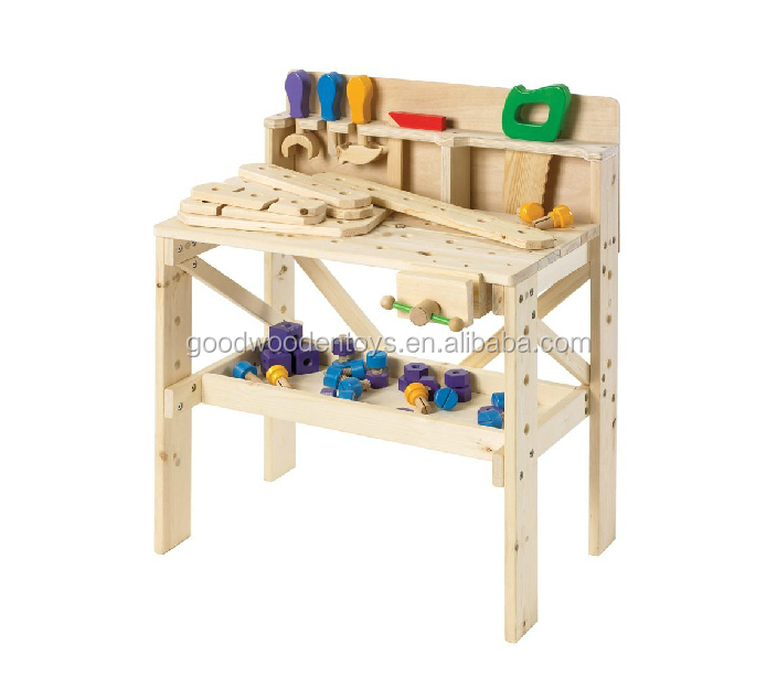 2017 New Wooden Tool Toy For Kids Tool Bench Toy For Child Wooden Work Bench View Work Bench