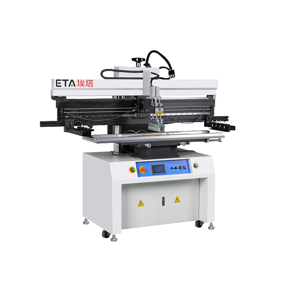 Shenzhen Supply Soldeerpasta Printer/SMT Semi Automatische Drukmachine