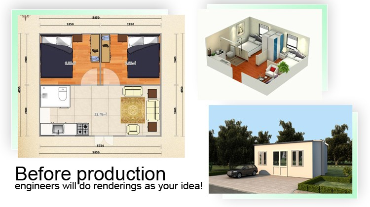 Very cheap cost effective fold container home kits Cheap kit homes for sale