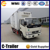 4X2 Dongfeng Brand 4tons Refrigerated Truck Cooling Van Truck