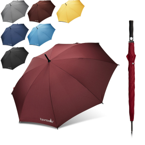 Topumbrella high quality custom logo Automatic Open Sun Protection Ultra Rain Wind Resistant Stick with big golf umbrella