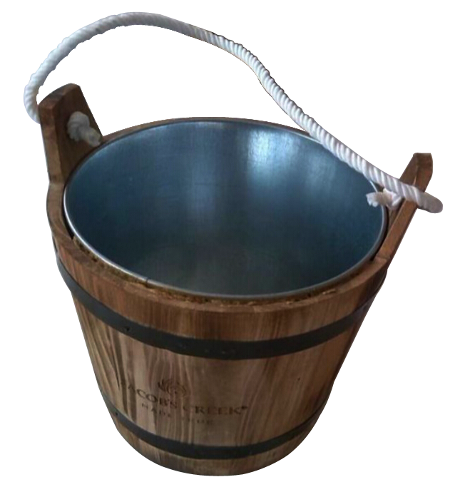 wood  ice bucket