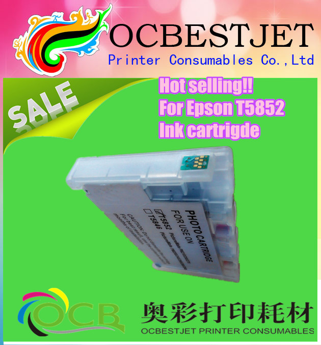 free samples!!!refill ink cartridge for epson t5852 for Epson Picture Mate PM210 PM235