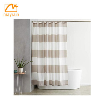Shower Curtain with Hooks