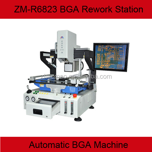 High precision optical alignment automatic BGA rework station ZM-R6823 for Iphone/Ipad mini/XBOX 360/Huawei/Sony Xperia/Nokia