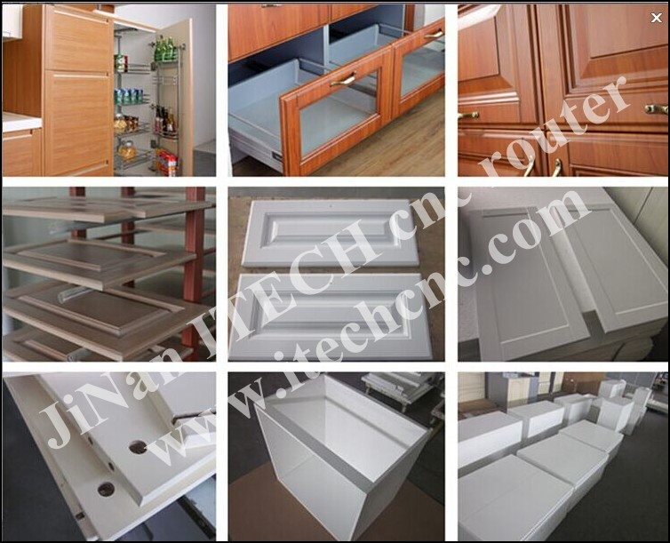 Made in china cnc router machine making acrylic kitchen for Acrylic kitchen cabinets cost