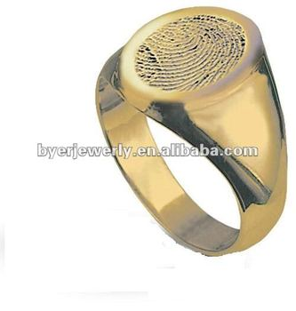 Gold Signet Ring Mens Jewellery Buy Simple Gold Rings Jewellery