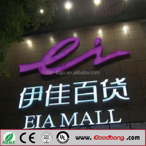luminous led wall led house numbers signs digital signage frame
