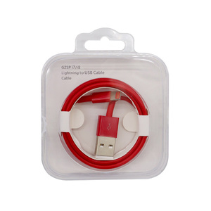 Wholesale charger data usb fast charging cable for apple iphone 7/8/x plus