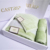 Luxury 100% Cotton Solid Color Promotion Gift Towel Set with Gift box