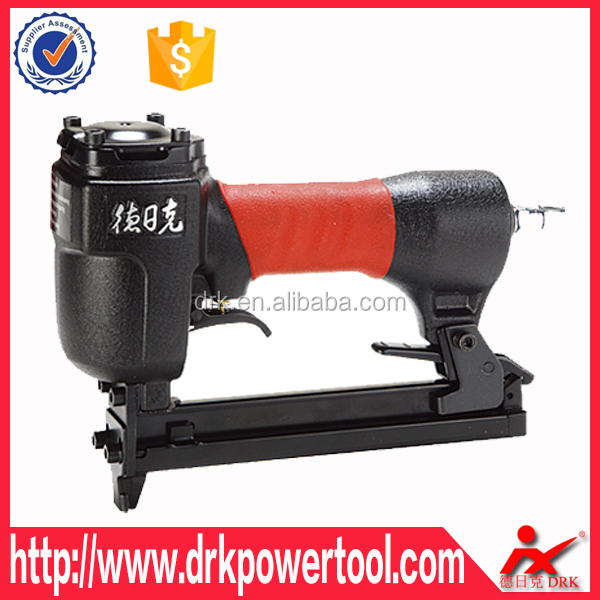DRK 1022J Stapler air gun made in China,construction tools air nailer,stapler special for decorated wood furniture