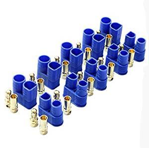 5X EC3 Male Female Bullet Connector Banana Head Plug For RC Lipo Battery