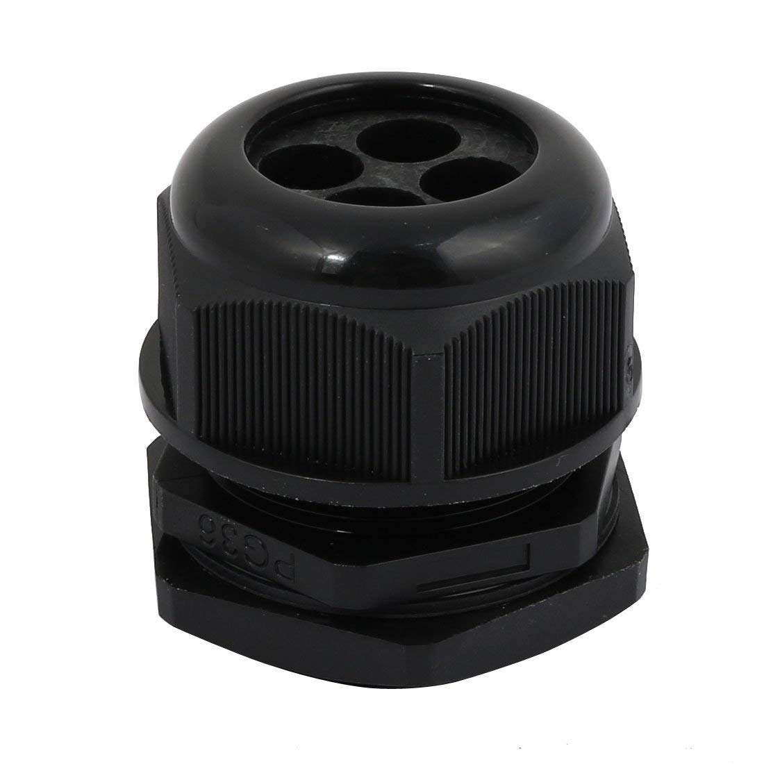 Yongcun Nylon Cable Glands Waterproof Cable Gland Joints PG21 Wire OD 12.5mm to 18mm Pack of 10pcs