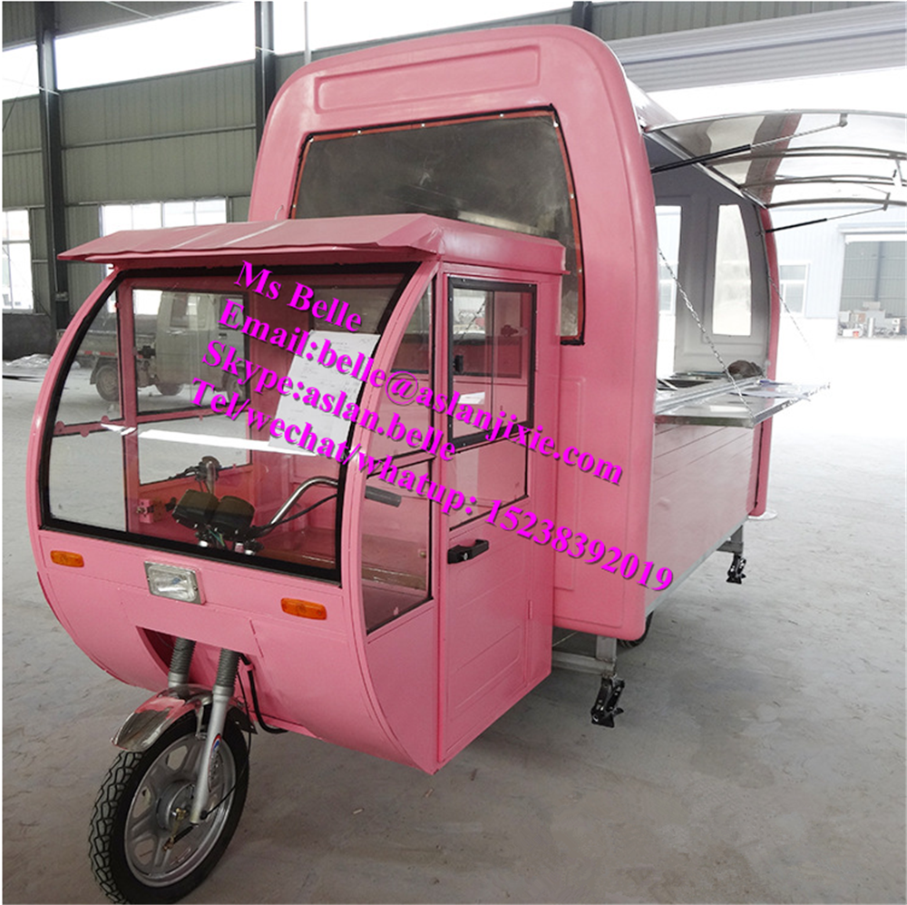 2016 Hot Designed Fast Food Mobile Street Food Van / Truck