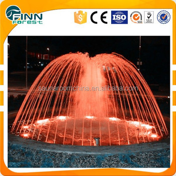 Modern PLC/DMX Musical Led Light Large Outdoor Water Fountain