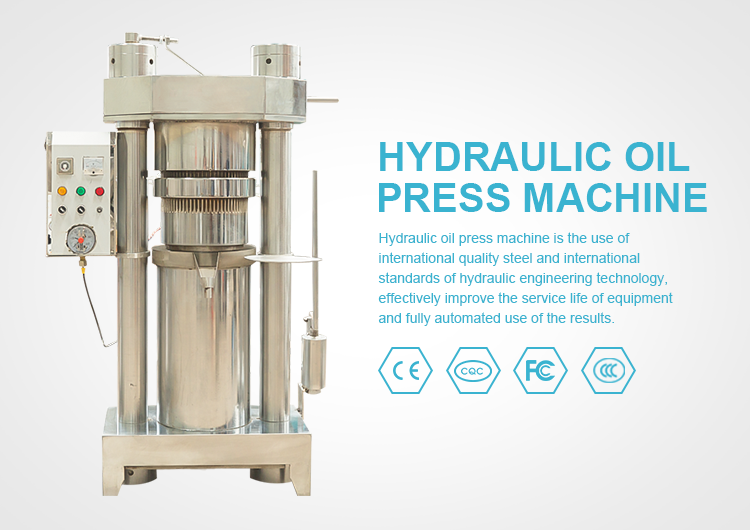 2018 hot sale new type avocado olive cold hydraulic mini oil press machine
