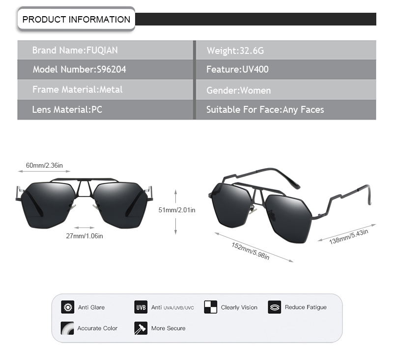 Fuqian glass lens polarized sunglasses Suppliers for sport-7