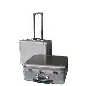 Customized Size High Quality Carrying Trolley Aluminium flight Case With Wheels