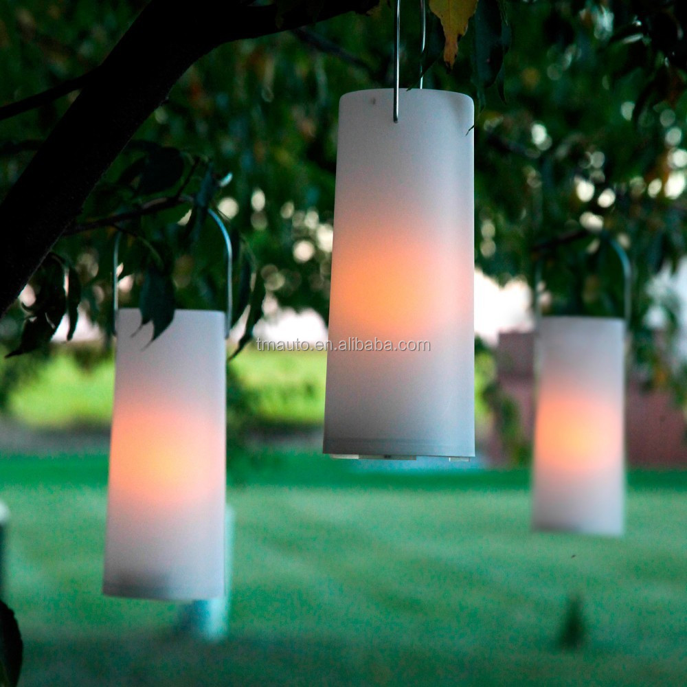 New Design White Plastic Battery Operated Outdoor Led Lantern ...