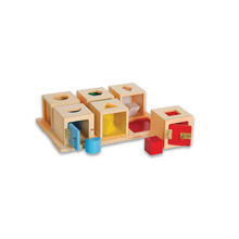 New Style learning toys for toddlers kids wooden toy box montessori lock box