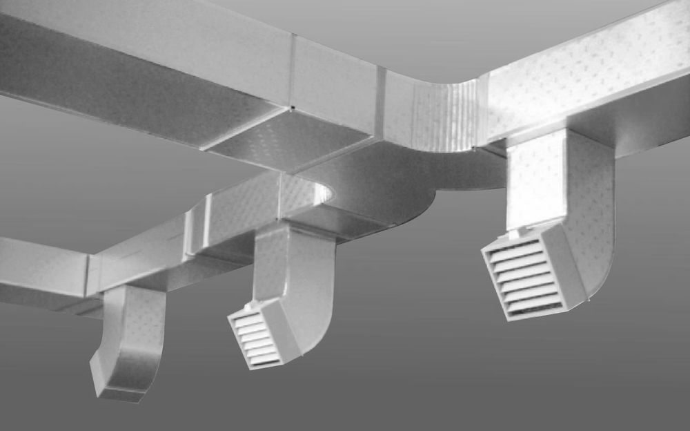 aluminum foil modular air duct for air conditioner and