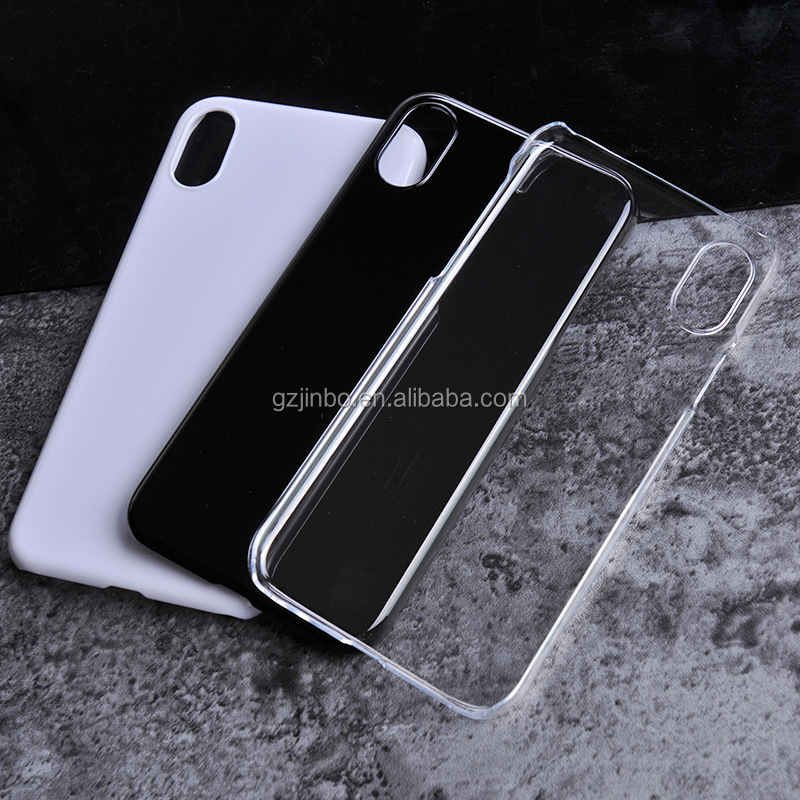 Hard Blank PC cell phone case for iphone 8