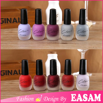 Hot New Matte Finish Nail Polish,Bk Matte Nail Polish Brands - Buy ...