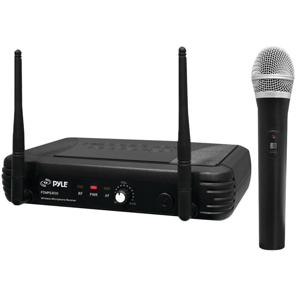 PYLE PRO PDWM1800 Premier Series Professional UHF Wireless Handheld Microphone System Home, garden & living