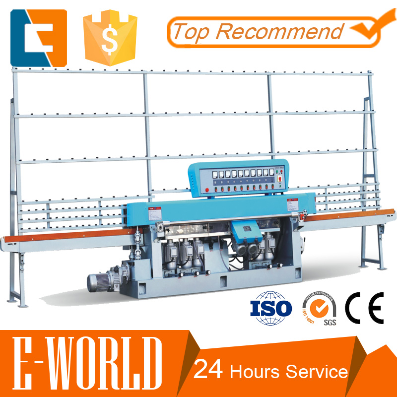 New type High efficient 380V/50Hz glass edge polishing machine