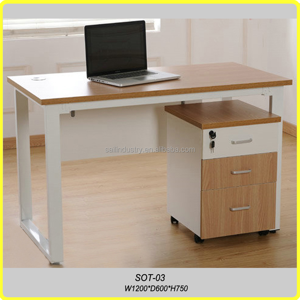 Computer table furniture - Office Furniture Particle Board Computer Desk Office Furniture Particle Board Computer Desk Suppliers And Manufacturers At Alibaba Com