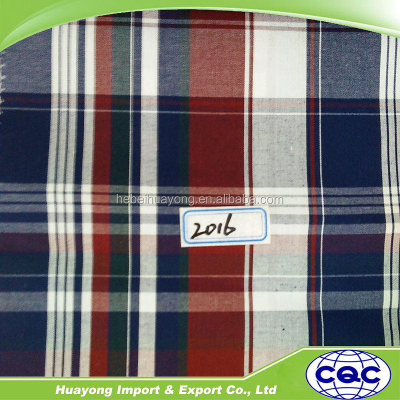 China Supply The Stocklot Doubleface Shirting Check Design Cotton ...