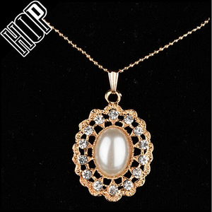 Korean jewelry fashion artificial pearl necklace