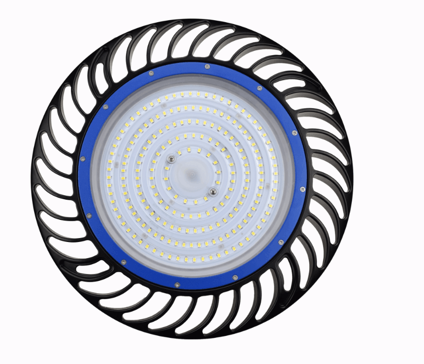 New design 150w DLC Nichia chips meanwell driver warehouse light industrial led high bay light 150w