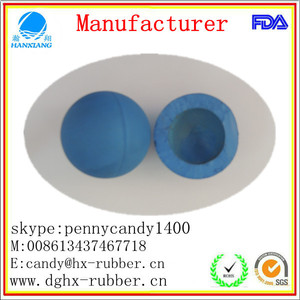 High Bouncing Rubber Hollow Ball