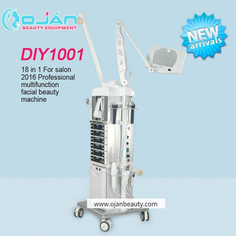 Facial machine multifunction