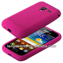 For Silicone s7500 samsung galaxy ace plus cover