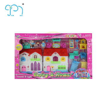 Anak Rumah Boneka Miniatur Furnitur Rumah Boneka gadis boneka Mainan Rumah  Boneka Aksesoris Untuk Gadis Pendidikan 88bbcc8851