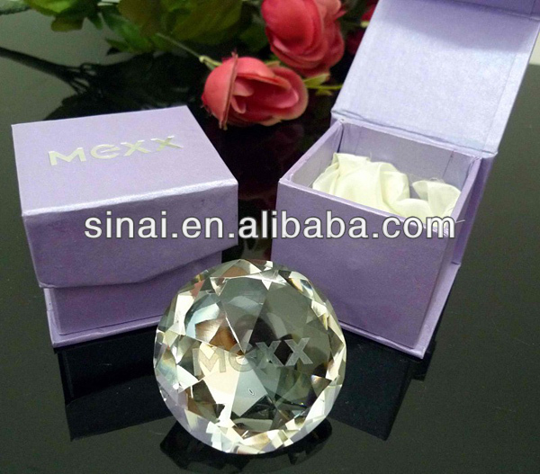 Popular Engraving Personalized Crystal Diamond Wedding Favors Gift