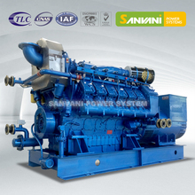 Methane Power Natural Gas Engine Genset Generator Set With Pakistan Prices