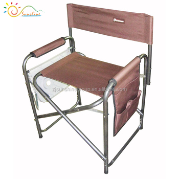 Camo Metal Foldable Director Chair Hunting For