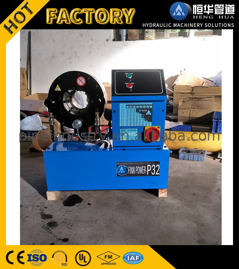 Hot and organic Manufacturer supply finn power p20 hydraulic hose crimping machine price ballast manufactured in China