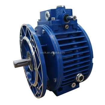 Industrial gearboxes, gear motors, variators and variators