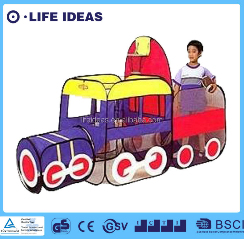kids train play tent