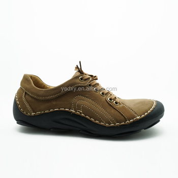 dongguan shoes factory directly free sample men leather casual shoes with cheap price